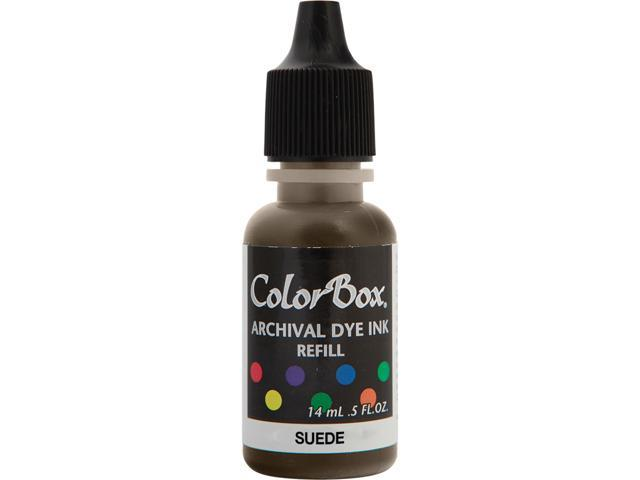 Colorbox Archival Dye Inkpad Refill-Suede