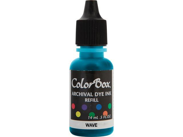 Colorbox Archival Dye Inkpad Refill-Wave