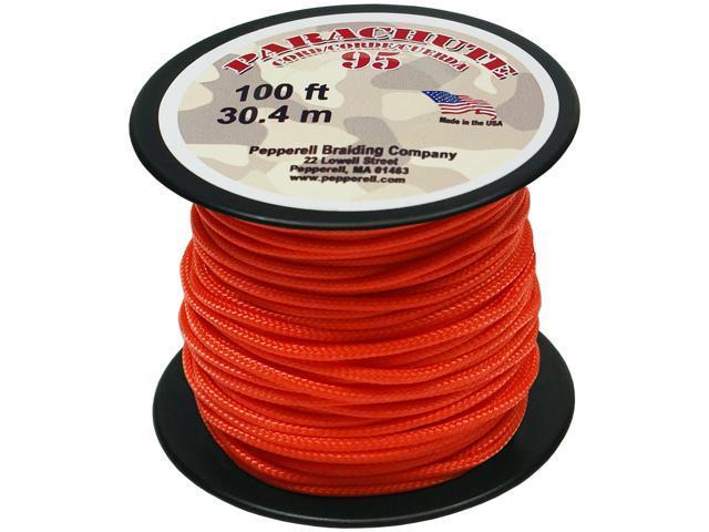 Parachute Cord 1.9mmX100'-Neon Orange