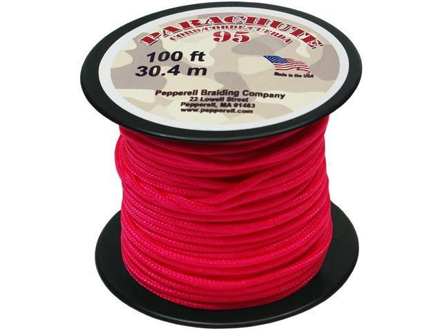 Parachute Cord 1.9mmX100'-Neon Pink