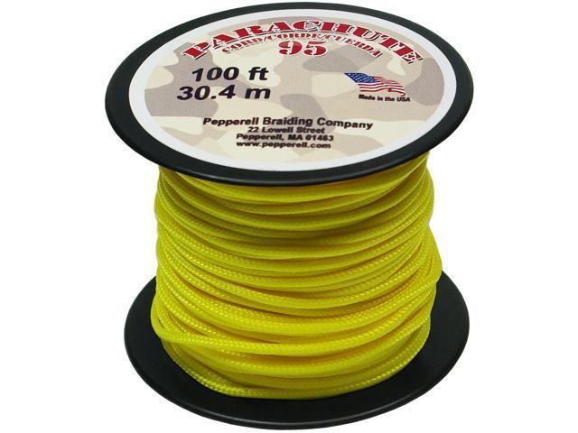Parachute Cord 1.9mmX100'-Yellow