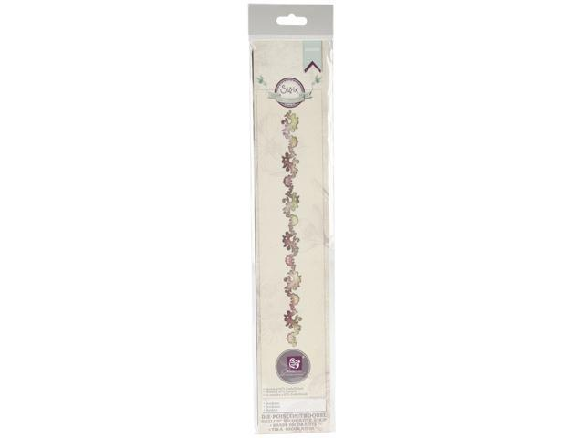 Sizzix Sizzlits Decorative Strip Die By Prima Marketing-Bordeaux