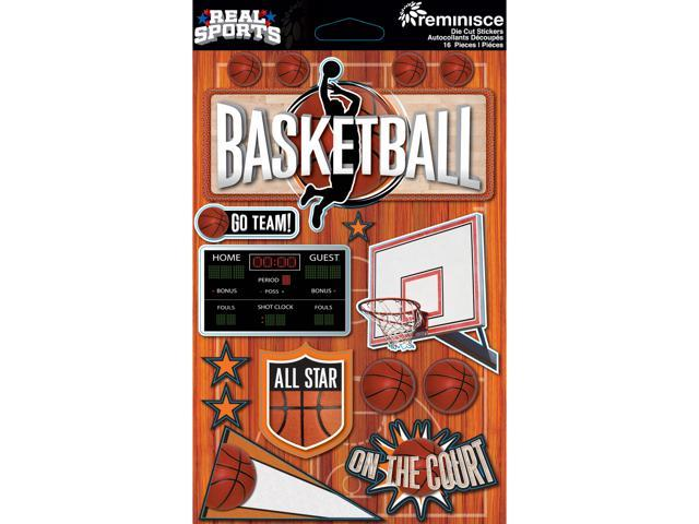 Real Sports Dimensional Stickers 4.5