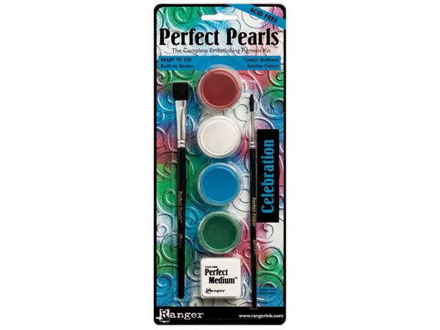 Perfect Pearls Pigment Powder Kit-Celebration