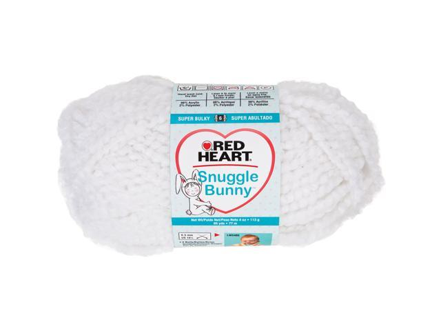 Red Heart Snuggle Bunny Yarn-Cotton Tail