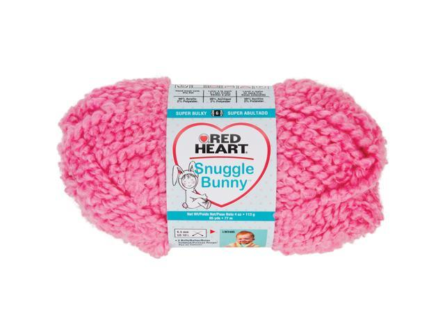 Red Heart Snuggle Bunny Yarn-Kitten
