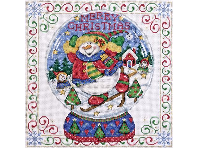 Snowglobe Counted Cross Stitch Kit-12
