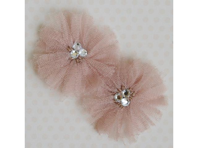 Tu-Tu Tulle Flowers With Gems 3