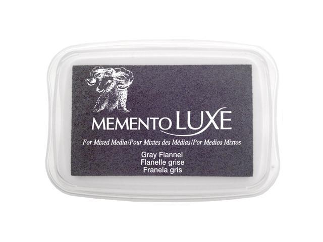 Memento Luxe Full-Size Inkpad-Gray Flannel