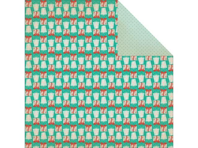 Gingerbread Double-Sided Cardstock 12