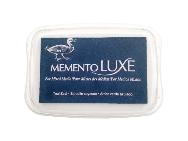 Momento Lux Full-Size Inkpad-Teal Zeal