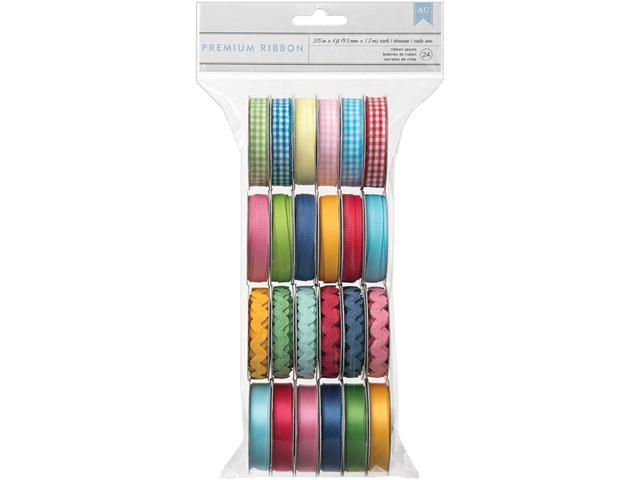 Mayberry Value Pack Premium Ribbon 24/Spools-.375
