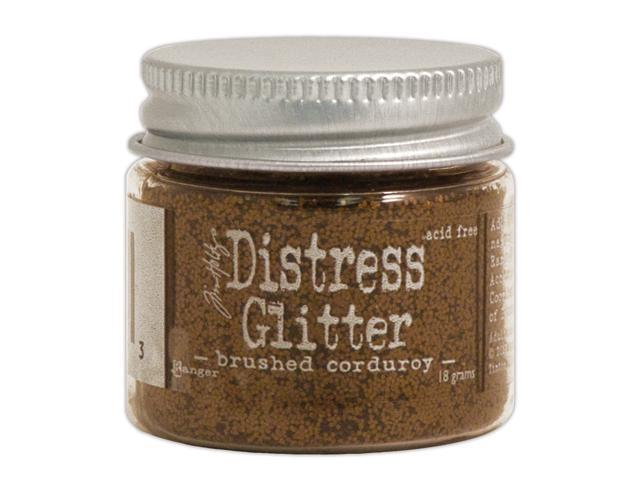 Tim Holtz Distress Glitter 1 Ounce-Brushed Corduroy