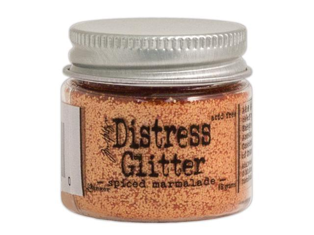 Tim Holtz Distress Glitter 1 Ounce-Spiced Marmalade
