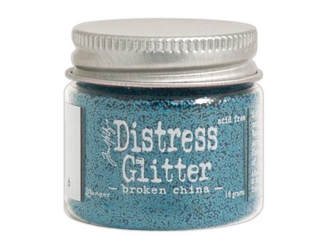 Tim Holtz Distress Glitter 1 Ounce-Broken China