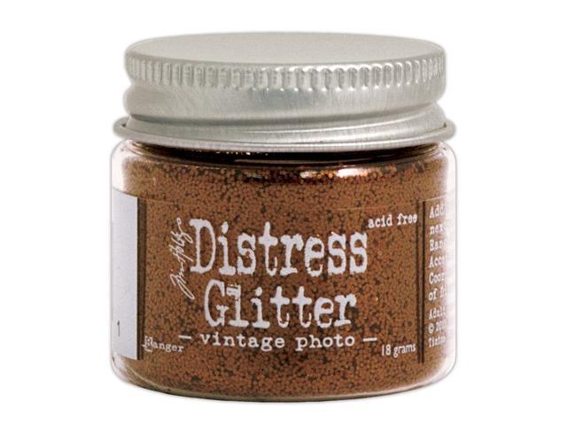 Tim Holtz Distress Glitter 1 Ounce-Vintage Photo