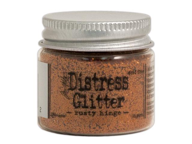 Tim Holtz Distress Glitter 1 Ounce-Rusty Hinge