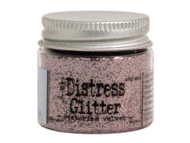 Tim Holtz Distress Glitter 1 Ounce-Victorian Velvet