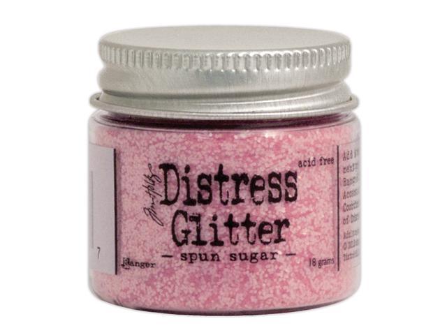 Tim Holtz Distress Glitter 1 Ounce-Spun Sugar
