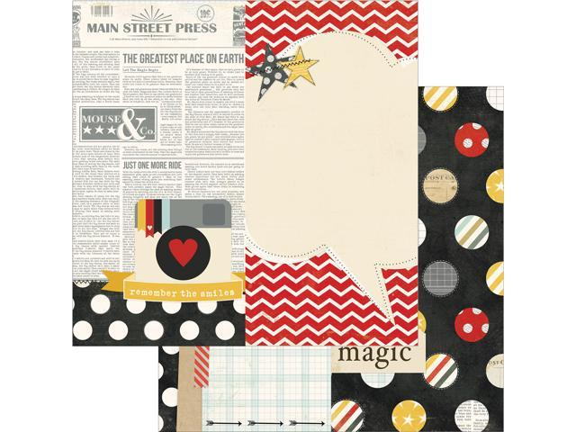 Say Cheese Double-Sided Elements Cardstock 12