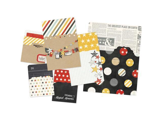 Say Cheese Memorabilia Pockets 6/Pkg-Sn@p! (1) 6