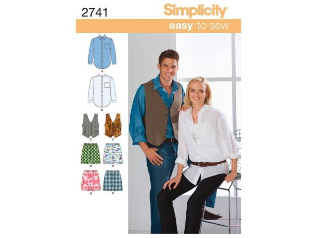 SIMPLICITY MISSES, MENS AND TEENS SHIRT,-XS-S-M