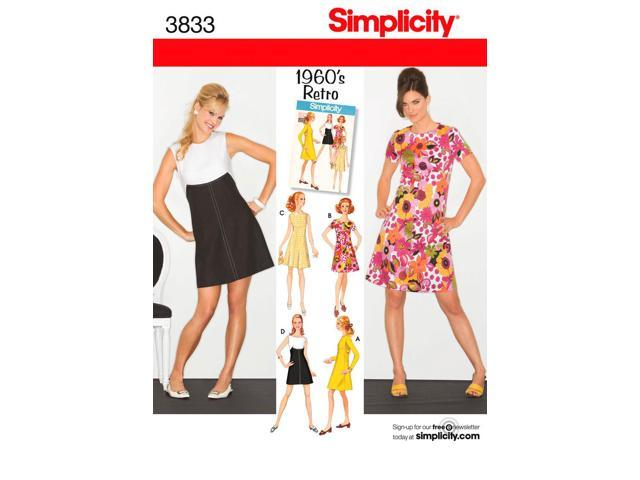 SIMPLICITY MISSES MISS PETITE DRESS-14,16,18,20,22