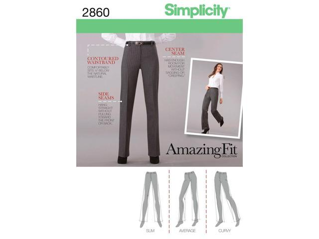 SIMPLICITY MISSES AND MISS PETITE PANTS-14,16,18,20,22