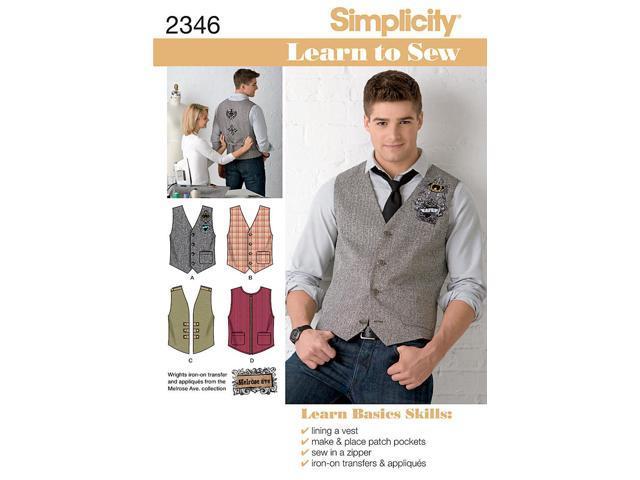 SIMPLICITY MEN BOY TOPS VESTS-44-46-48-50-52