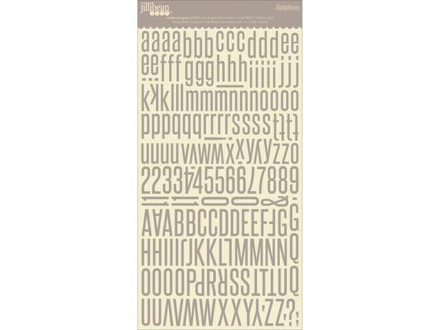Alphabeans Large Cardstock Stickers 7
