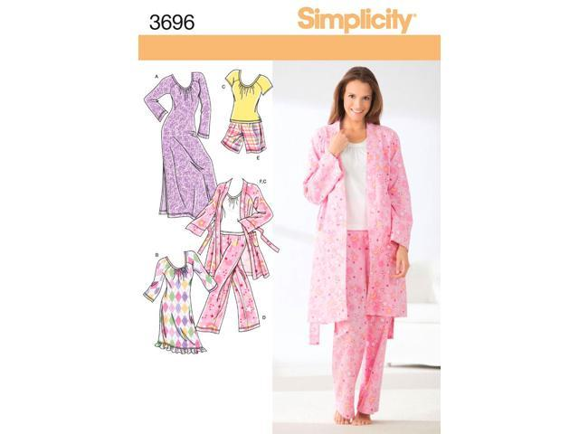 SIMPLICITY MISSES PANTS OR SHORTS, ROBE-XXS,XS,S,M