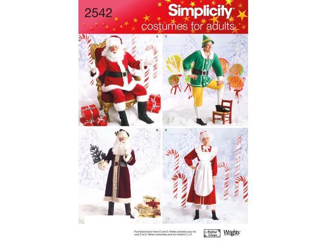SIMPLICITY CRAFTS COSTUMES-L-XL