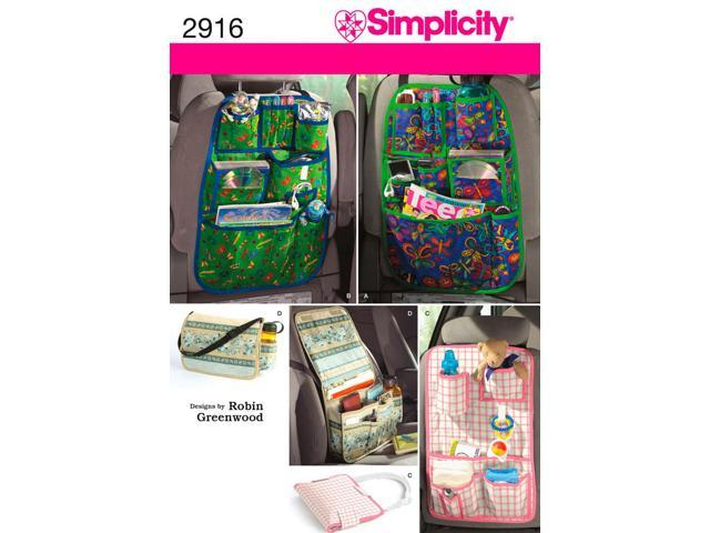 SIMPLICITY CAR ORGANIZERS-ONE SIZE