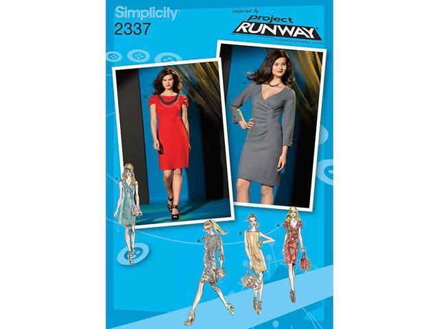 SIMPLICITY MISSES DRESSES-4-6-8-10-12
