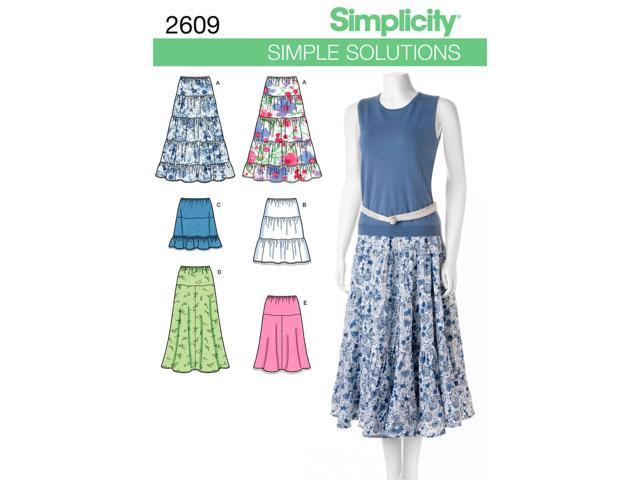 SIMPLICITY MISSES SKIRTS PANTS-16 18 20 22 24