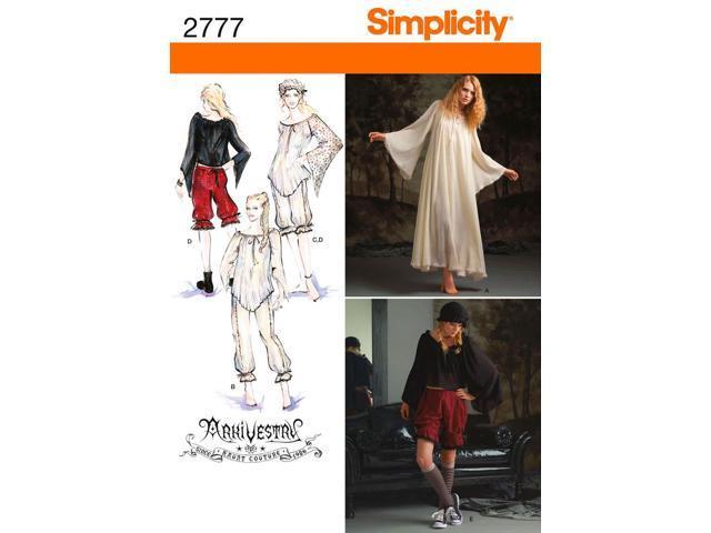 SIMPLICITY MISSES' COSTUME-14,16,18,20,22