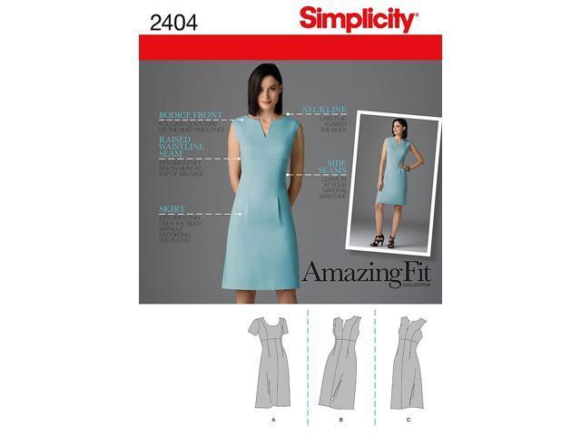 SIMPLICITY MISSES DRESSES-16-18-20-22-24