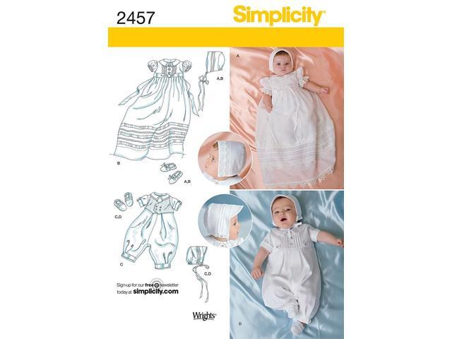 SIMPLICITY BABIES SPECIAL OCCASION-XXS-XS-S-M