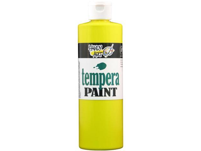 Handy Art Tempera Paint 16 Ounces-Yellow