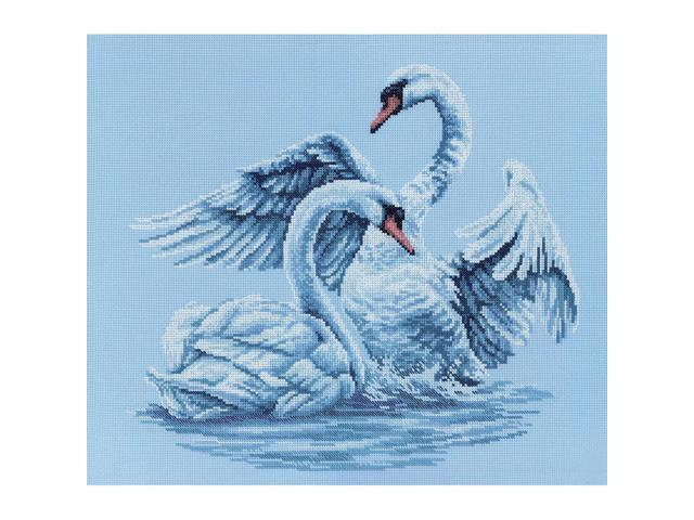Swan Fidelity Counted Cross Stitch Kit-15-3/4