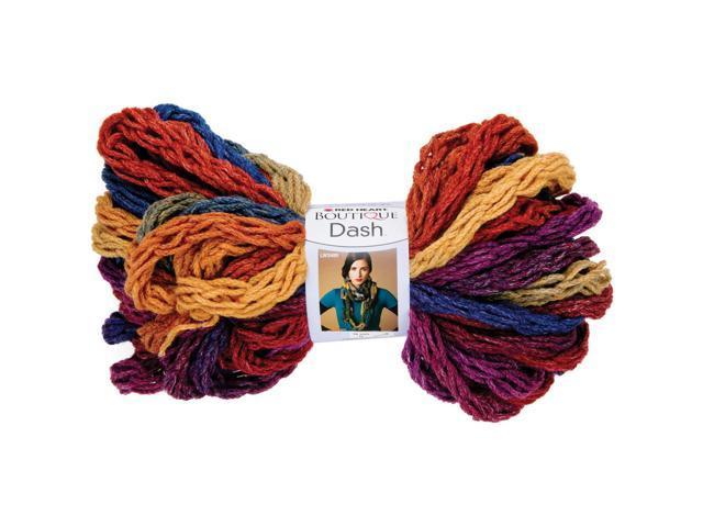 Red Heart Boutique Dash Yarn-Rainbow