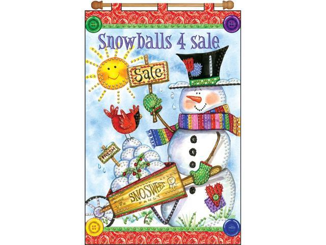 Snowballs For Sale Jeweled Banner Kit-16