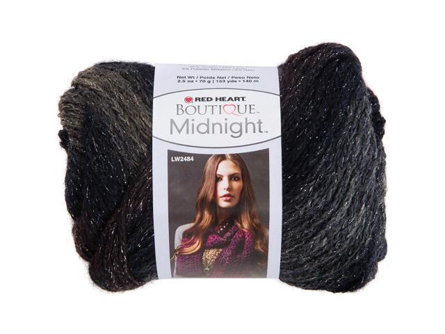 Red Heart Boutique Midnight Yarn-Nightfall