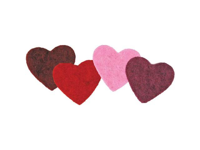 Feltworks Multi Color Hearts-