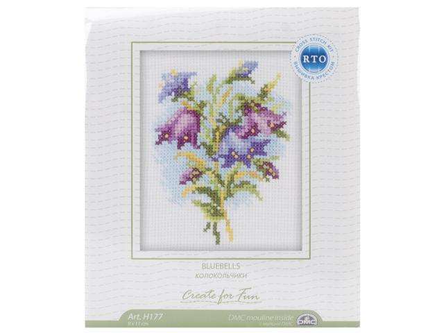 Bluebells Counted Cross Stitch Kit-4