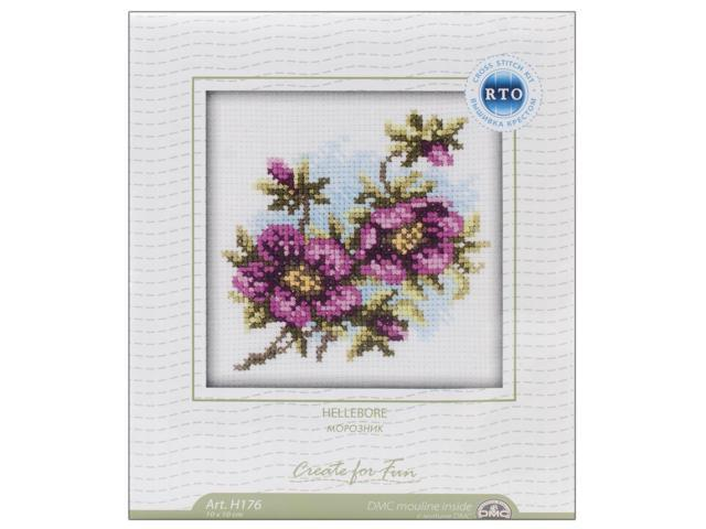 Hellebore Counted Cross Stitch Kit-4