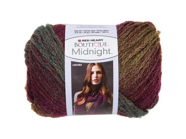 Red Heart Boutique Midnight Yarn-Brocade