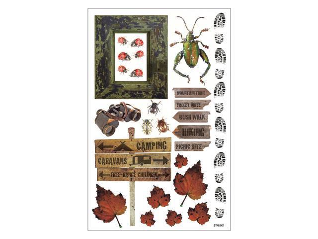 Rustic Cardstock Stickers 8.25