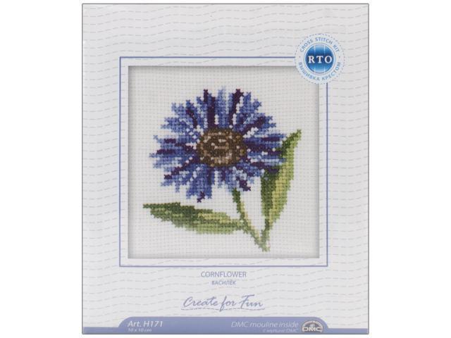 Cornflower Counted Cross Stitch Kit-4