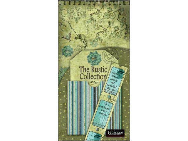 Rustic Die-Cut Tags Journal 8
